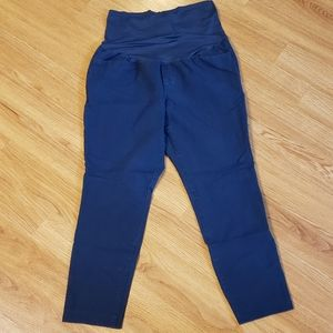 Old Navy Maternity Full Panel Pixie Pants, Navy